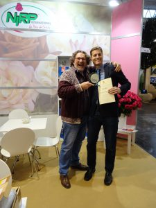 Verleihung Preis Rose des Jahres an Christian Schultheis