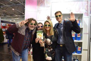 Andreas, Katja, Deborah und Christian auf der IPM